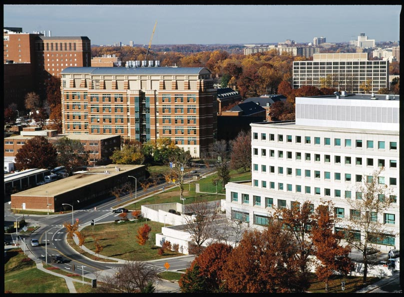 Pictures of NIH Campus